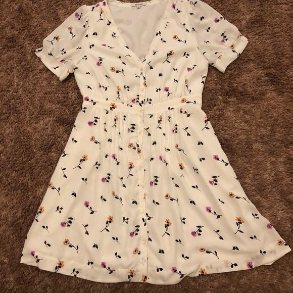 5c455d9abd Madewell Dresses   Skirts - Madewell Daylily Pintuck Dress
